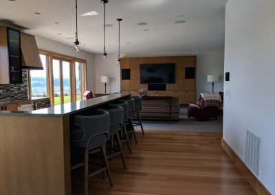 Kitchen Speakers, Lighting and Home Theater