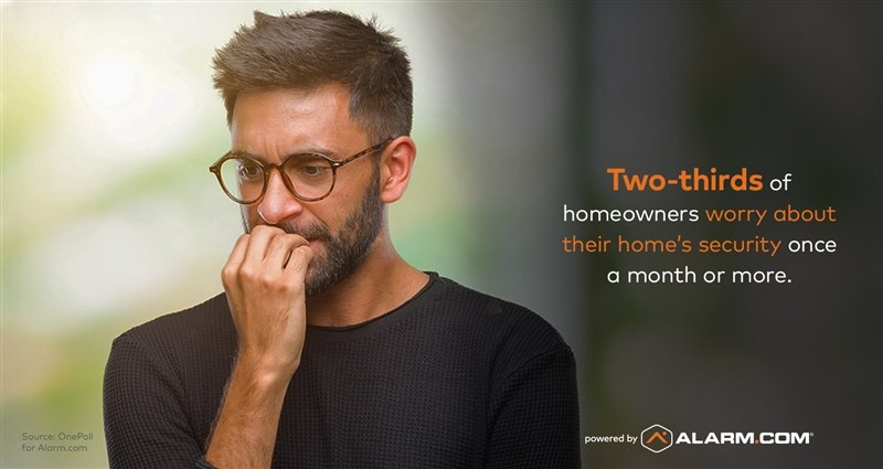2 out of 3 Homeowners Worry About Home Security