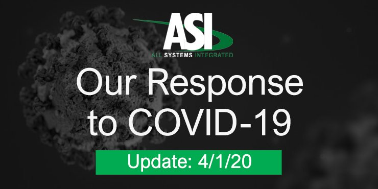 04/01/20 Update: A Note from ASI About COVID-19
