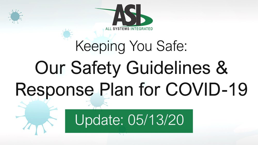05/13/20 Update: A Note From ASI About COVID-19