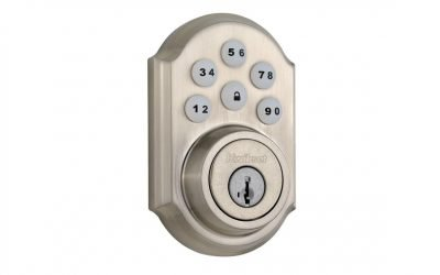 Kwikset 910 Touchpad (Z-wave and Z-wave Plus)