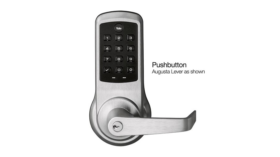 Yale nexTouch Cylindrical Lever Lock Pushbutton