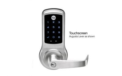 Yale nexTouch Cylindrical Lever Lock (Pushbutton and Touchscreen Models)
