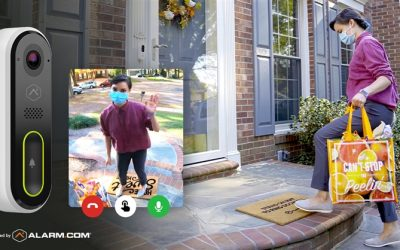 Product Feature: The Alarm.com Touchless Video Doorbell