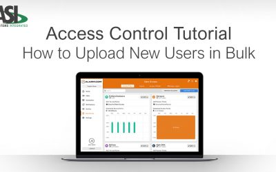 Alarm.com Access Control Tutorial: How to Upload New Users in Bulk