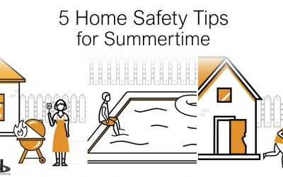 5 Summertime Home Safety Tips
