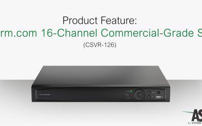 Product Feature: Alarm.com 16-Channel Commercial-Grade SVR (CSVR-126)