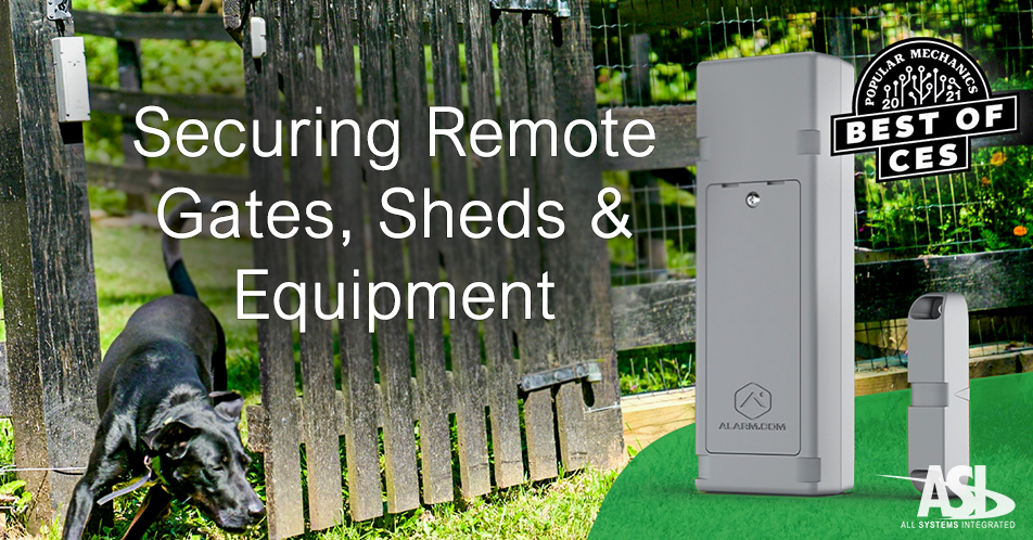 How to Remotely Secure Your Gates, Sheds, and Equipment